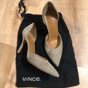 Vince suede heels